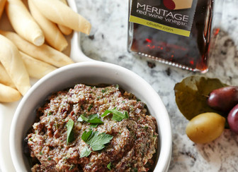 Red Wine Olive Tapenade