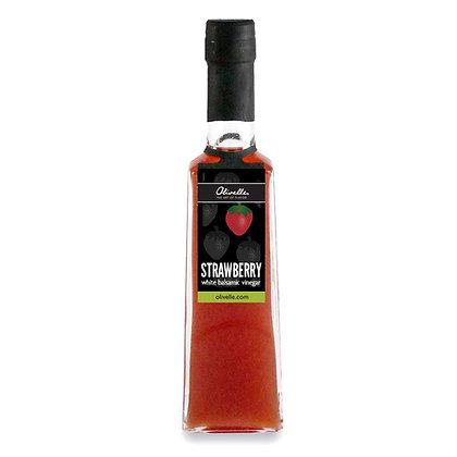 Strawberry Barrel Aged White Balsamic Vinegar