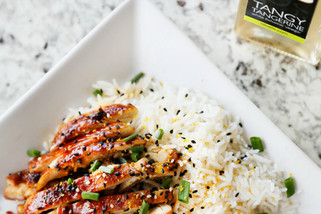Tangerine Chicken Teriyaki