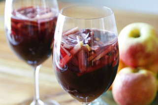 Spiced Apple Sparkling Sangria