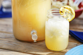 Sugar & Spice Grilled Lemonade
