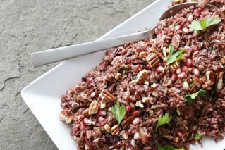 Cherry & Pomegranate Wild Rice Salad