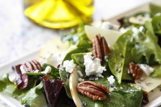 Spring Salad With Blood Orange Vinaigrette