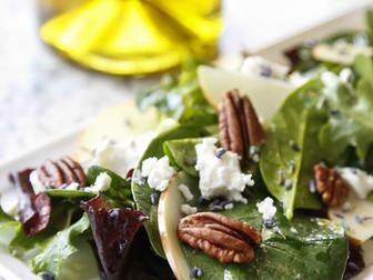 Spring Salad With Lavender Vinaigrette
