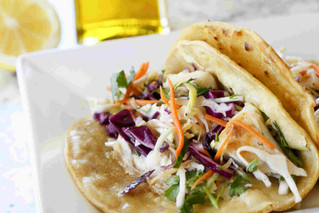Zesty Fish Tacos