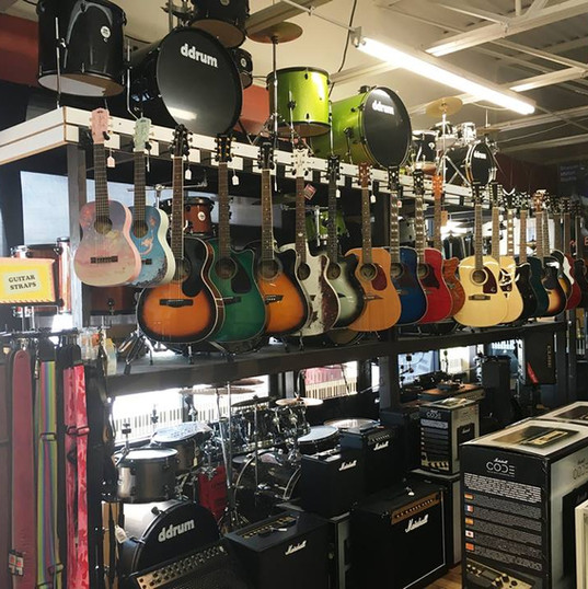 Guitar Straps & Cases  We also sell guitar cases and have a variety of straps in stock!