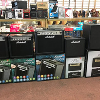 Amplifiers  We sell a large variety of amps in many sizes!