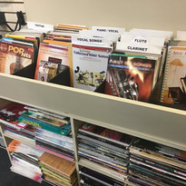 Books  We sell band instrument books, method books, movie soundtrack books and teaching aids.  We supply books to schools and teachers and can order any books you need. We even offer discounted books to our students!