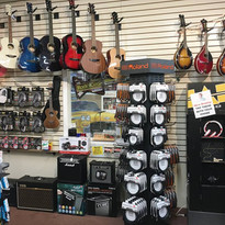 Supplies in Stock  From cables, tuners, capos and more, we stock the supplies our customers want to see without the big price tag!