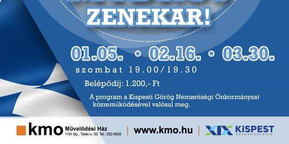 Görög táncház a KMO-ban