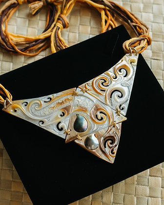 4Triangle Large necklace.