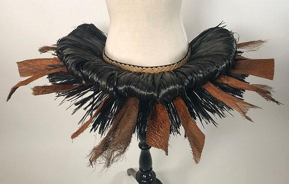 'AHU Tahiti Hip-Belt Base - Black/Natural/Kere