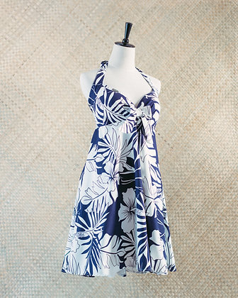 Nanihi - Blue/White Print