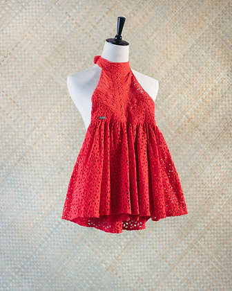 Puanoa Kids - Red Lace