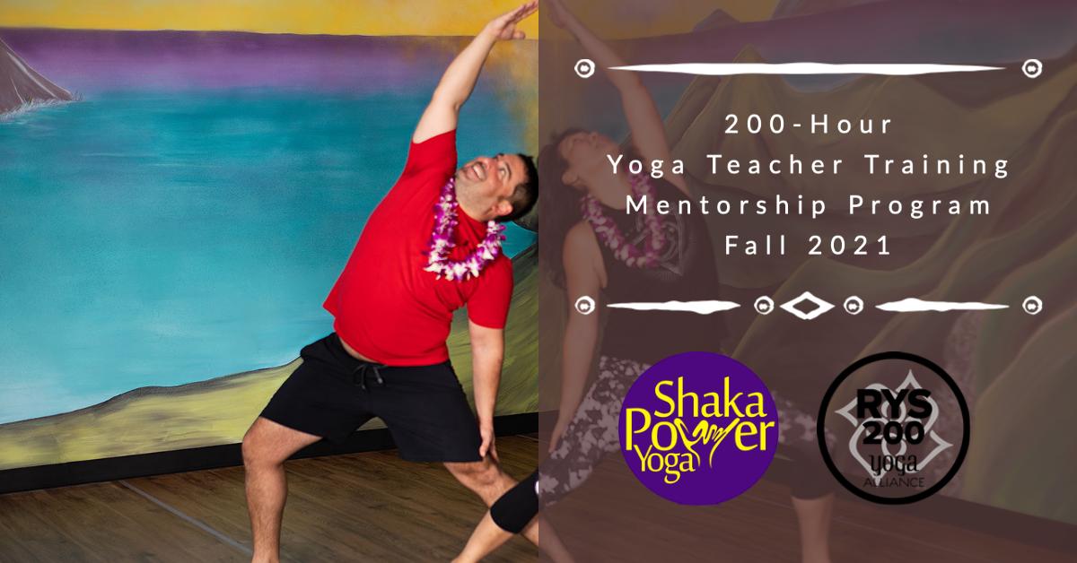 Fall 2021 Yoga Teacher Training Mentorship Program