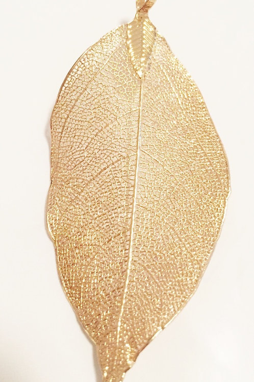 Leaf Pendant (pointed and round available)