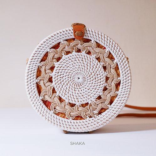 Floral Roundie - White