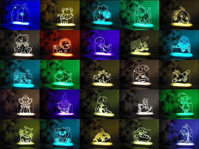 Illuminate Creations night lights