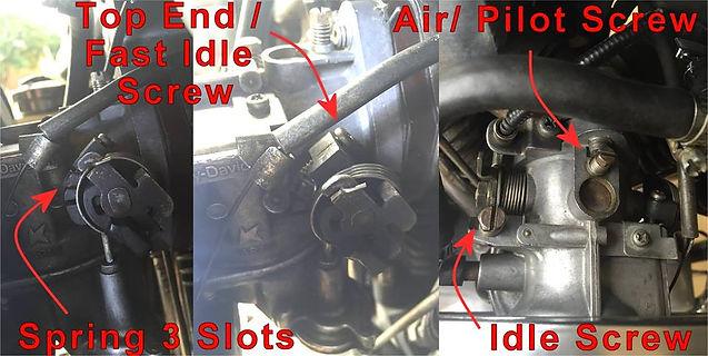 Keihin carburetor 1977- 1978 difference