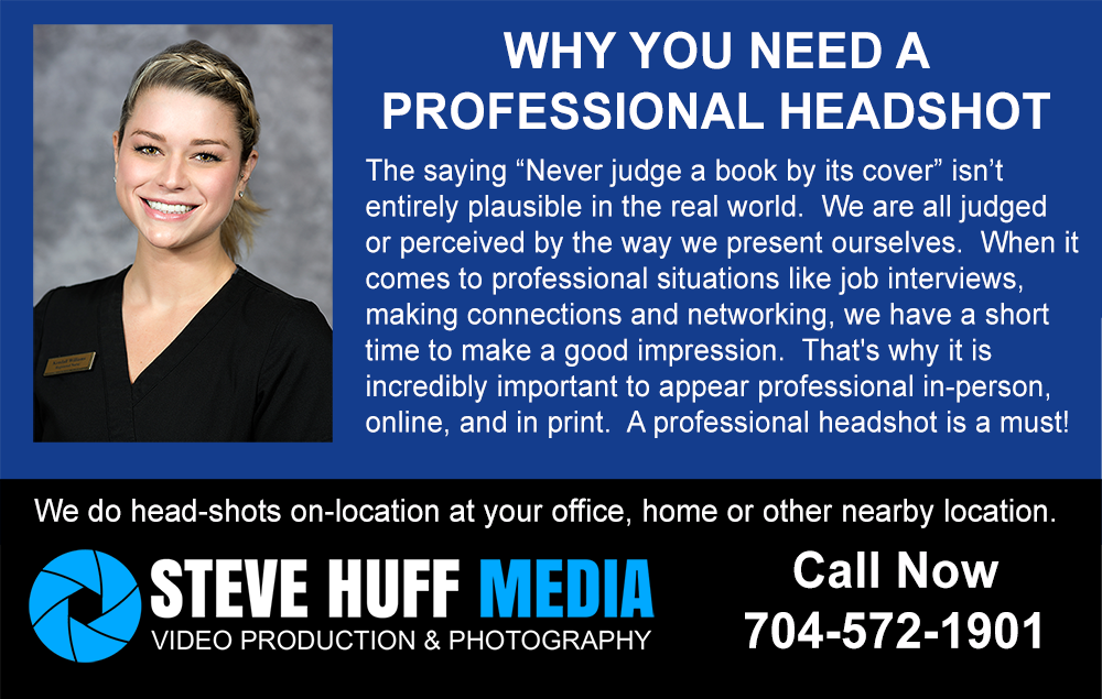 Head Shots - Steve Huff Media - Charlotte Photography