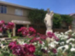 Holy Rosary School main entrance