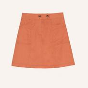 mini rok oranje