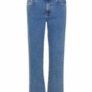 jeans recht enkellengte