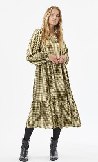 Ruiten jurk wijd
