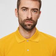Polo shirt geel