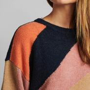knit meerdere kleuren (met wol)