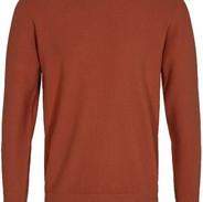Oranje trui dun gebreid