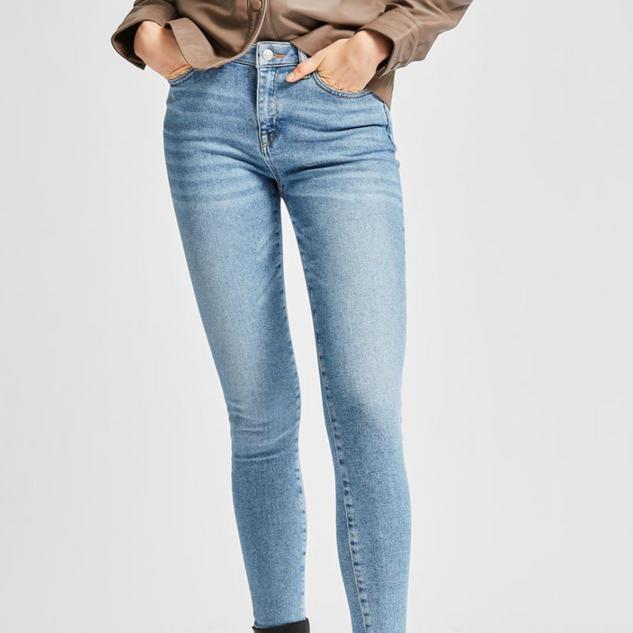 Skinny jeans veel stretch