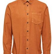 Oranje shirt tencel