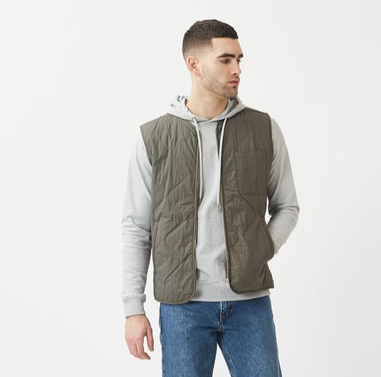 waist coat groen