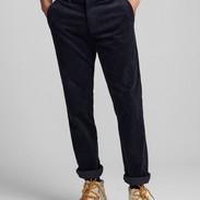 Blauwe rib broek