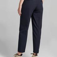 Blauwe basic broek