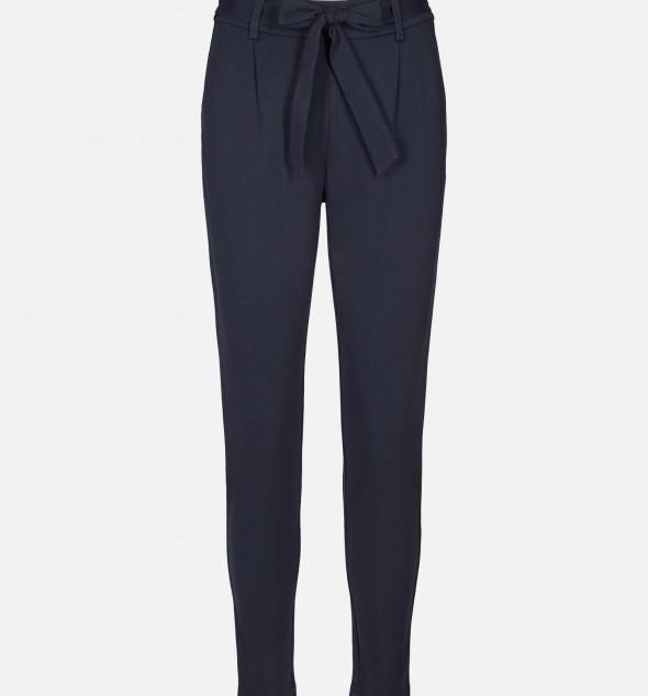 Blauwe jogging pantalon