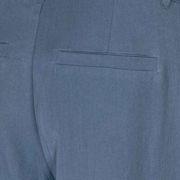 wijde pantalon blauw
