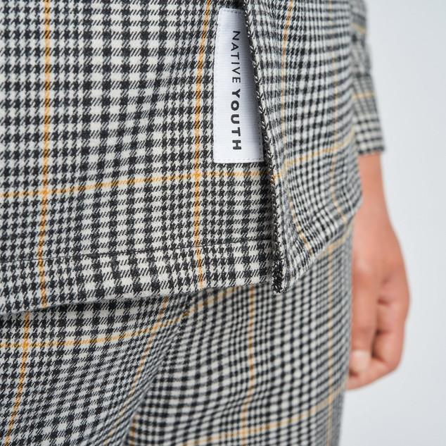 Geruit overhemd/jasje
