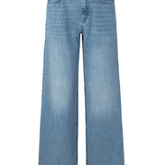 Lichte wijde jeans