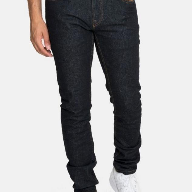 Jeans rauw blauw