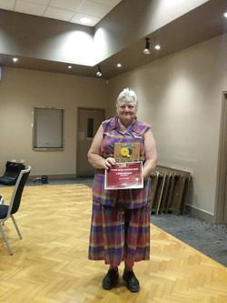 Ladies Singles - Winner - Lyn Belshaw