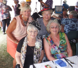 Melbourne Cup Day Carole, me, Greta, Gail   (9).JPG