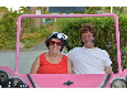 R&L in car - Grease.jpg