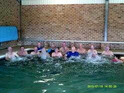 Indoor Pool - July 2013 Hallidays