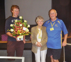 AGM 2014 and Presentation to Des & Alice Cooper - President of club since it's b