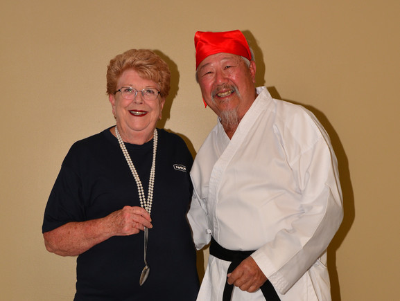 Sandra & Karate Kid