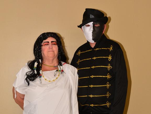 Cleopatra and Phantom of the Opera