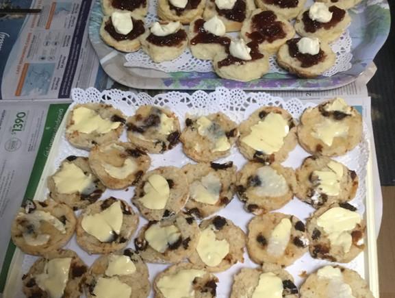 Susan's scones - always delicious!