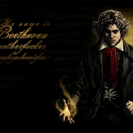 My name is Beethoven